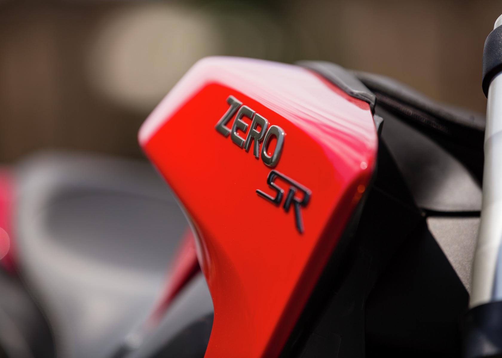 2016 Zero SR Electric Motorcycle: