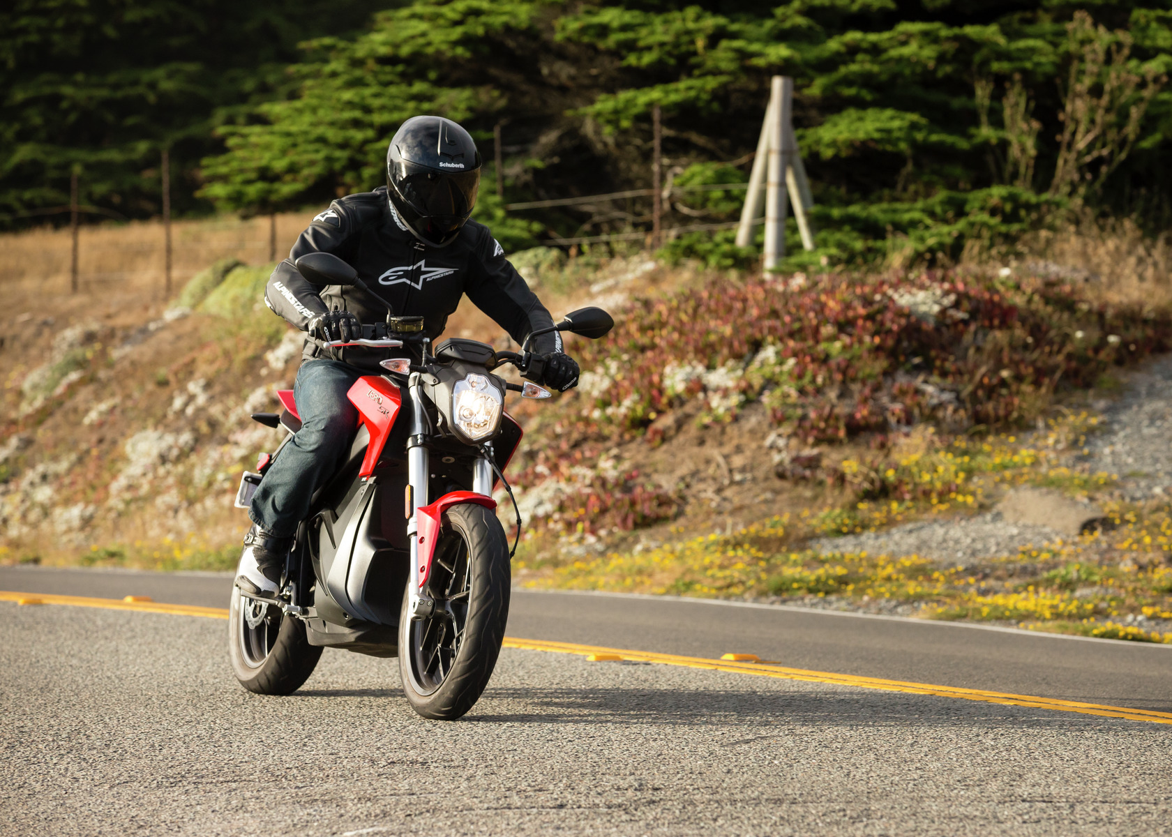 2016 Zero SR Electric Motorcycle: