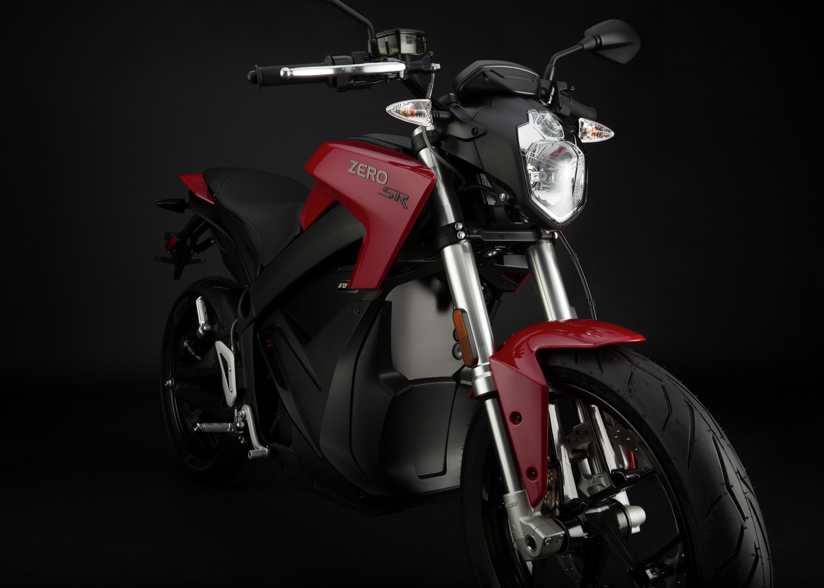 2016 Zero SR Electric Motorcycle: Front Fork