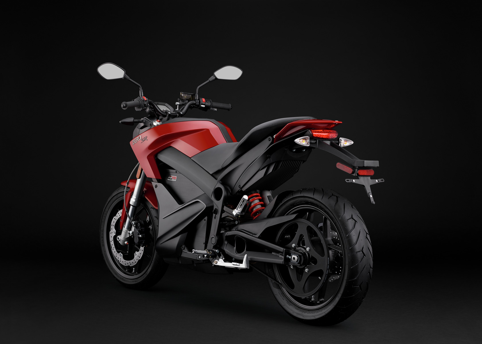 2016 Zero SR Electric Motorcycle: Angle Left