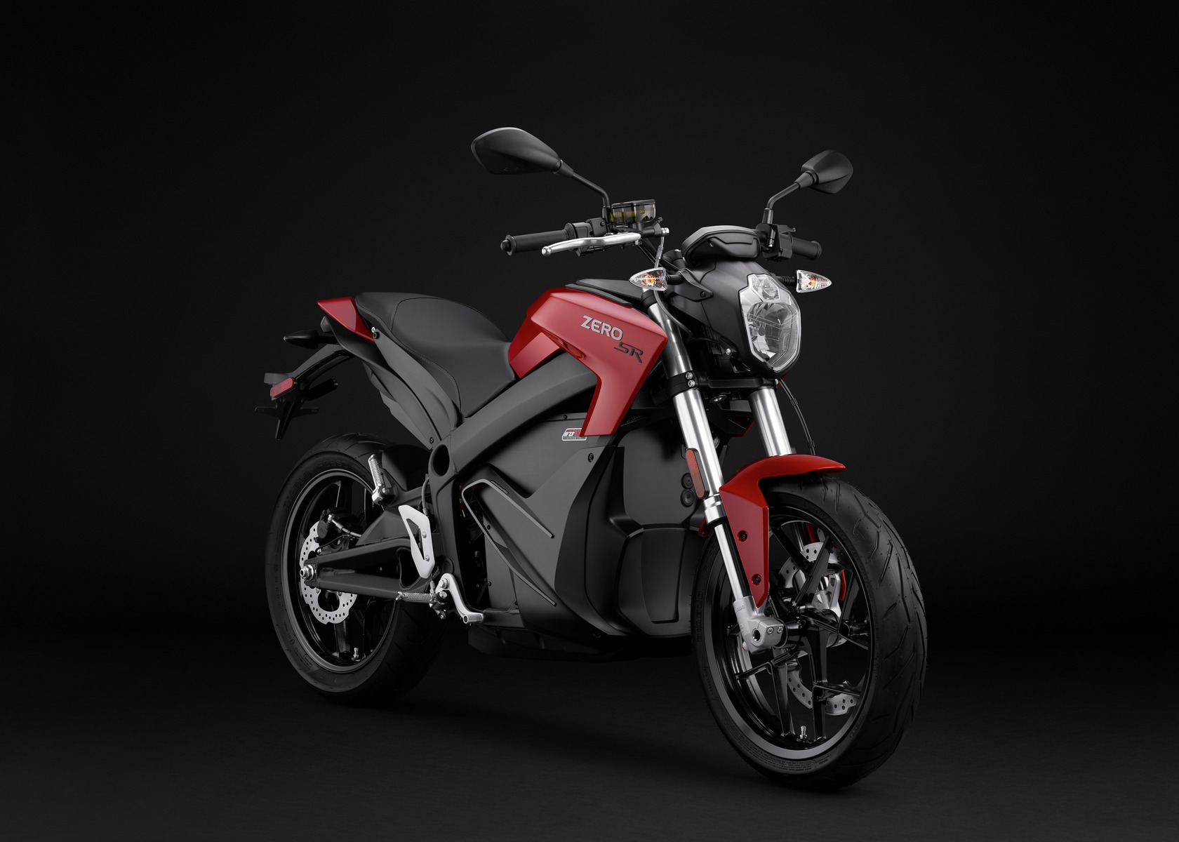 2016 Zero SR Electric Motorcycle: Angle Right