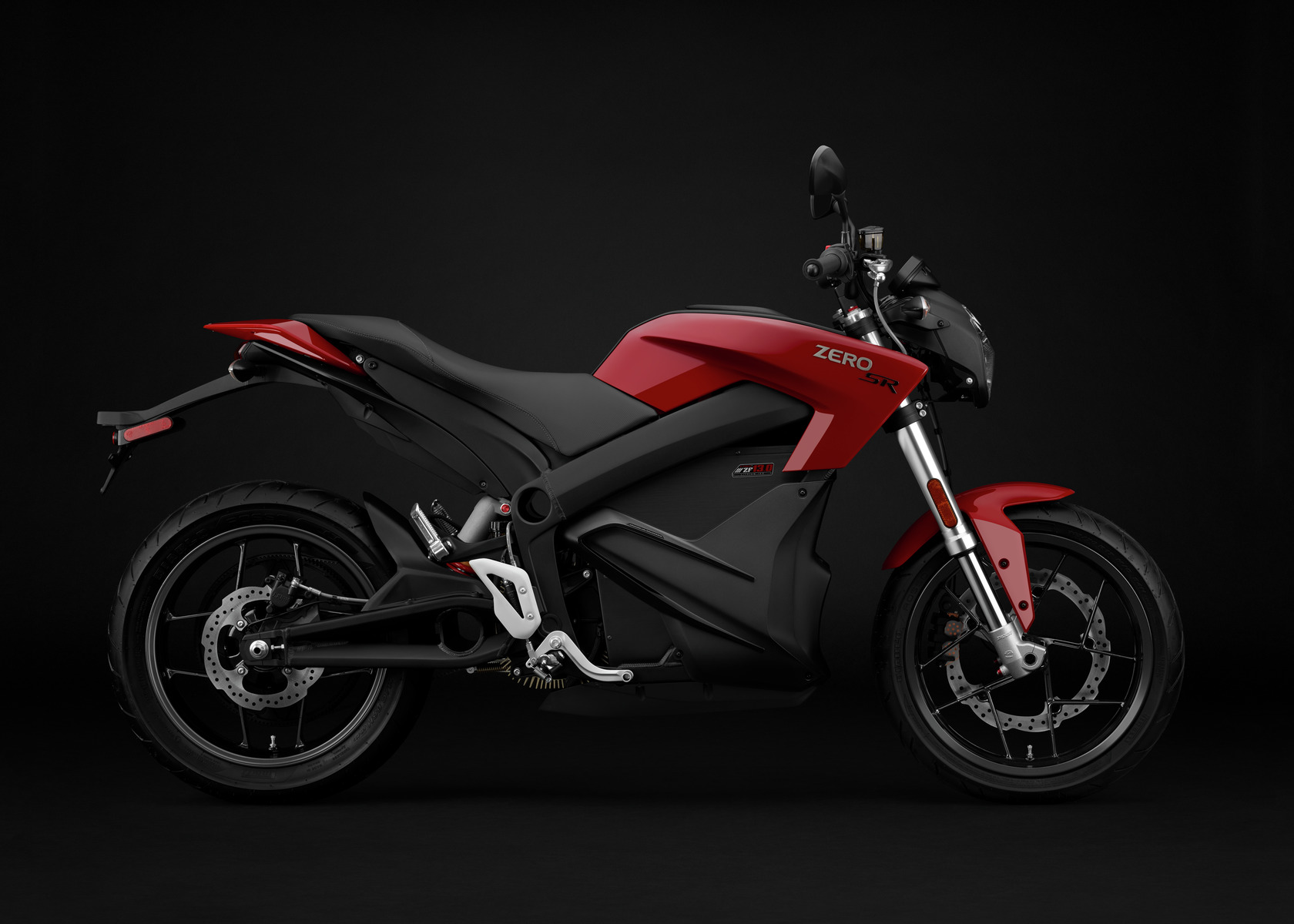 2016 Zero SR Electric Motorcycle: Profile Right