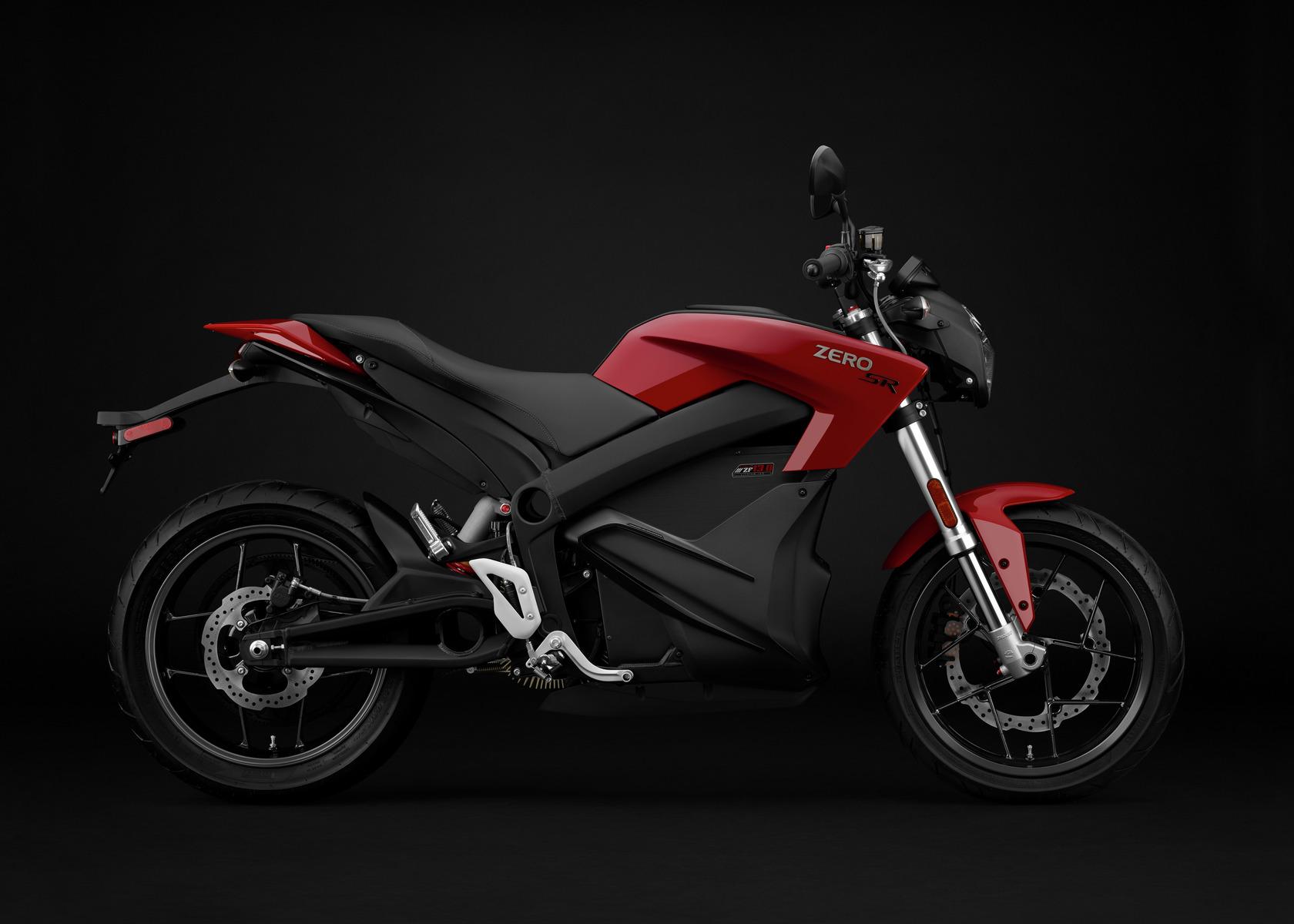 2016 Zero SR Electric Motorcycle: Profile Right
