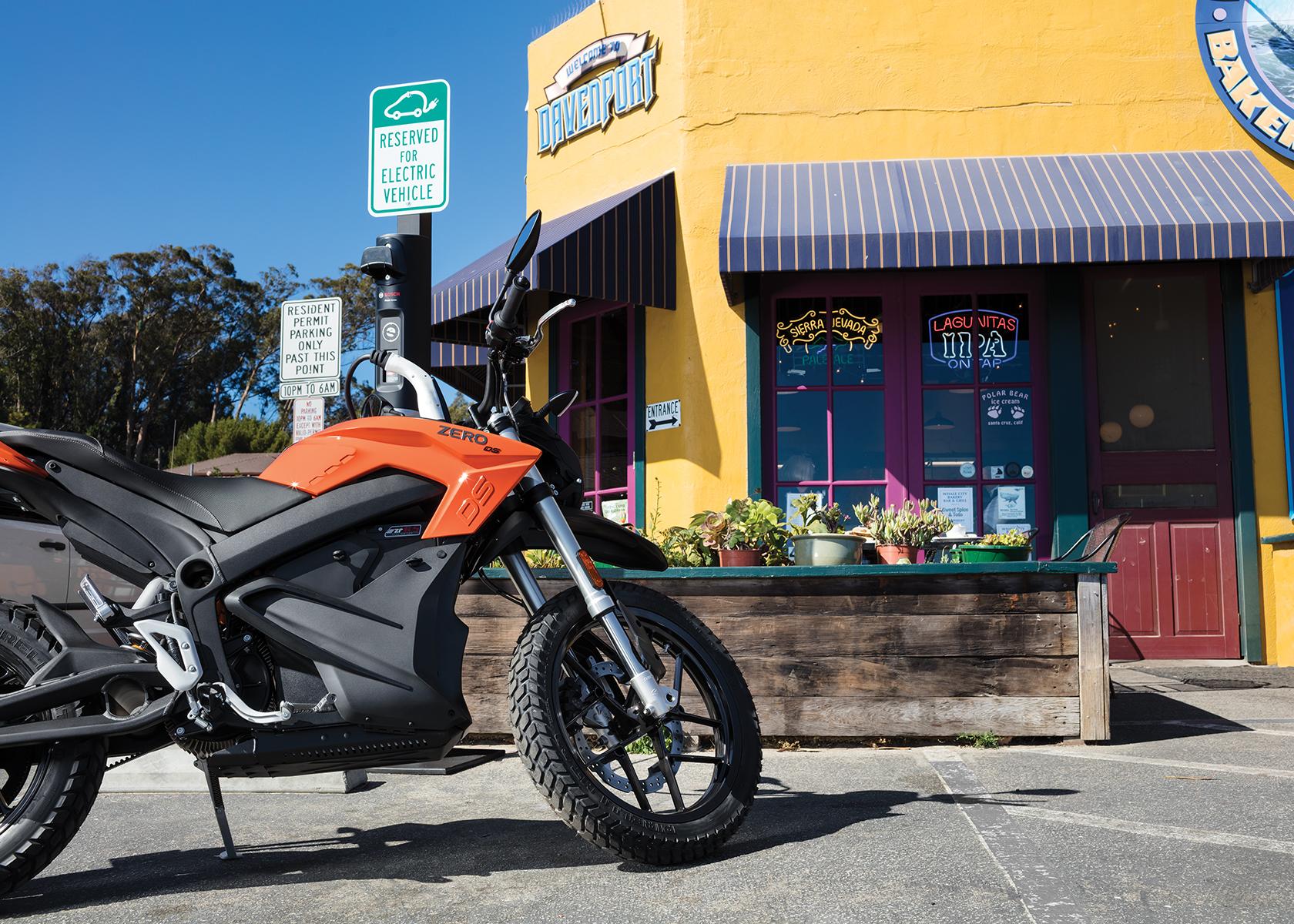 2017 Zero DS Electric Motorcycle:
