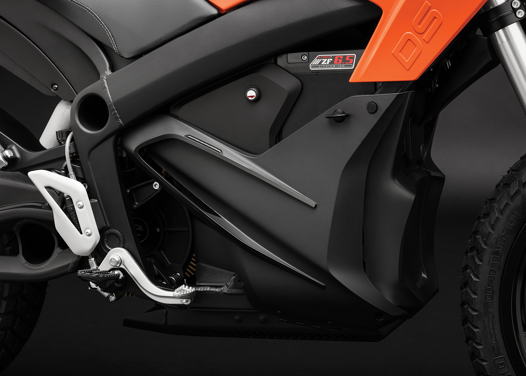 2016 Zero DS Electric Motorcycle: Battery