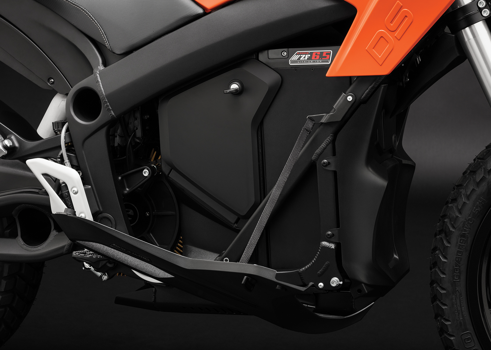 2017 Zero DS Electric Motorcycle: Storage Closed