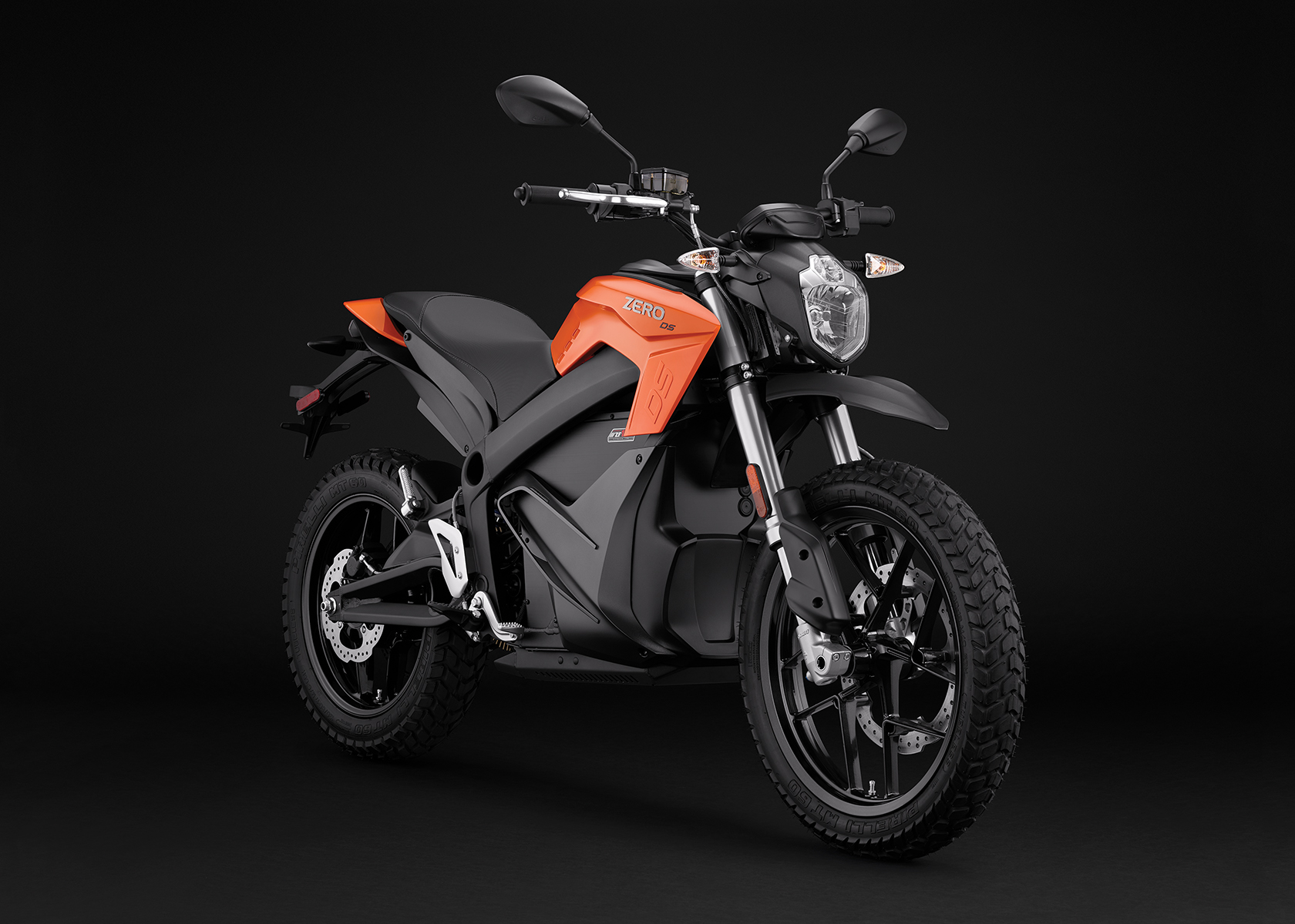 2017 Zero DS Electric Motorcycle: Angle Right
