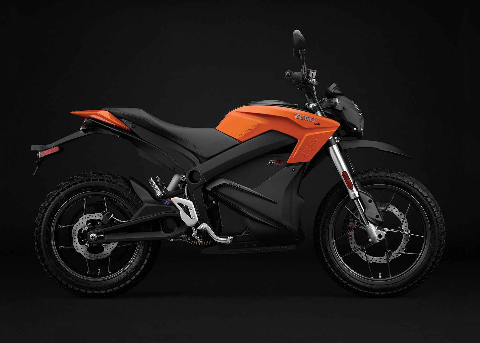 2017 Zero DS ZF13.0 Electric Motorcycle: Right Profile