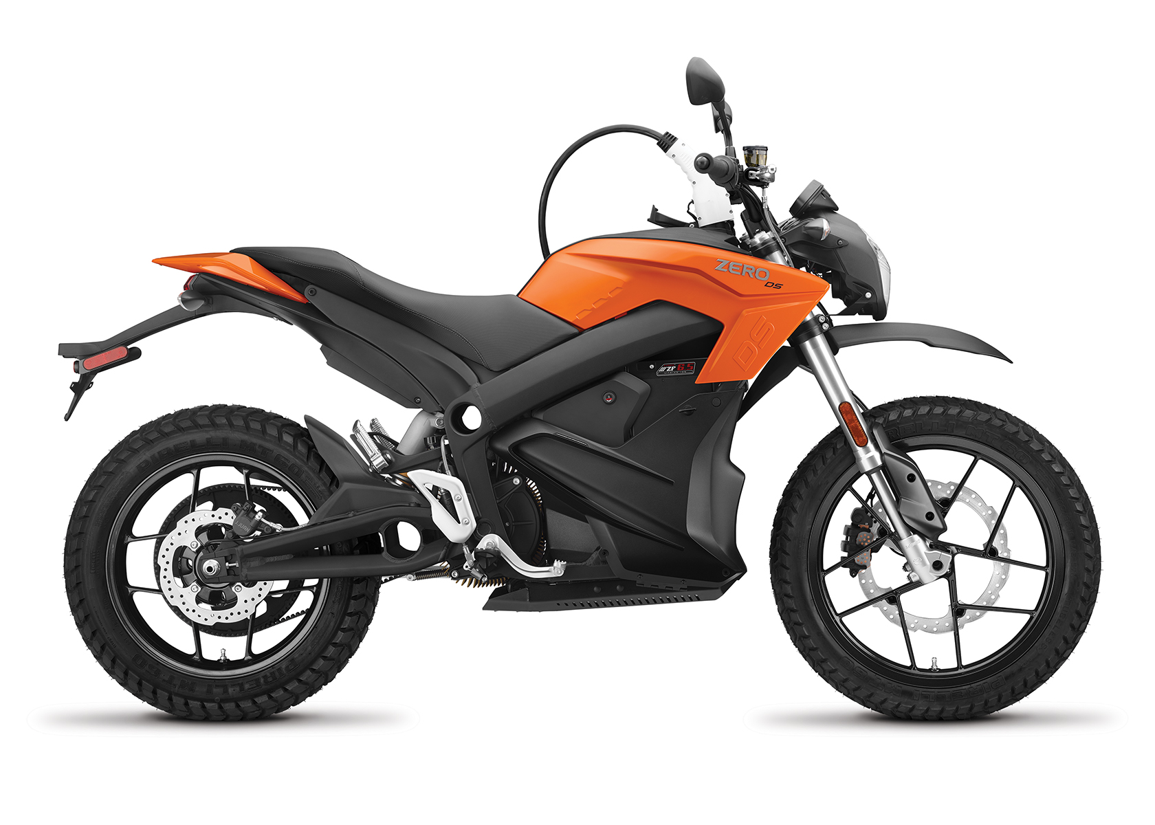 2017 Zero DS ZF6.5 Electric Motorcycle: Charging