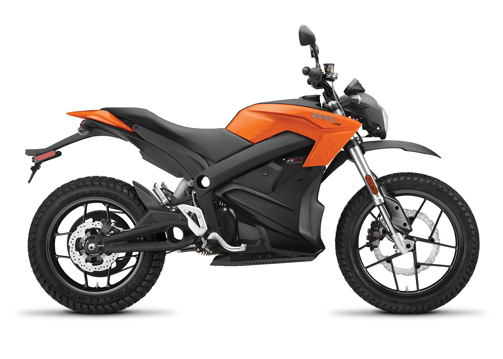 2017 Zero DS ZF6.5 Electric Motorcycle: Right Profile