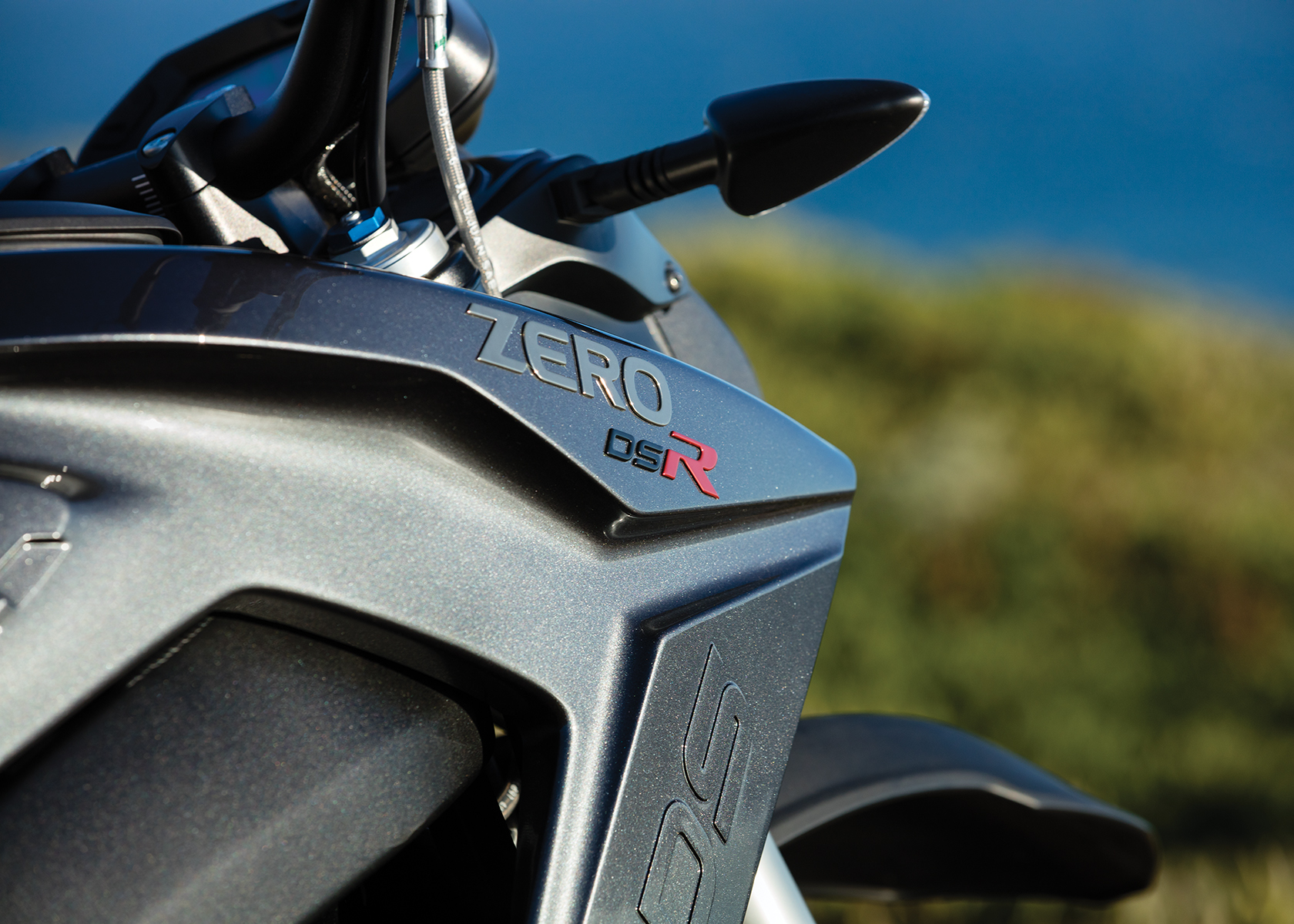 2017 Zero DSR Electric Motorcycle: