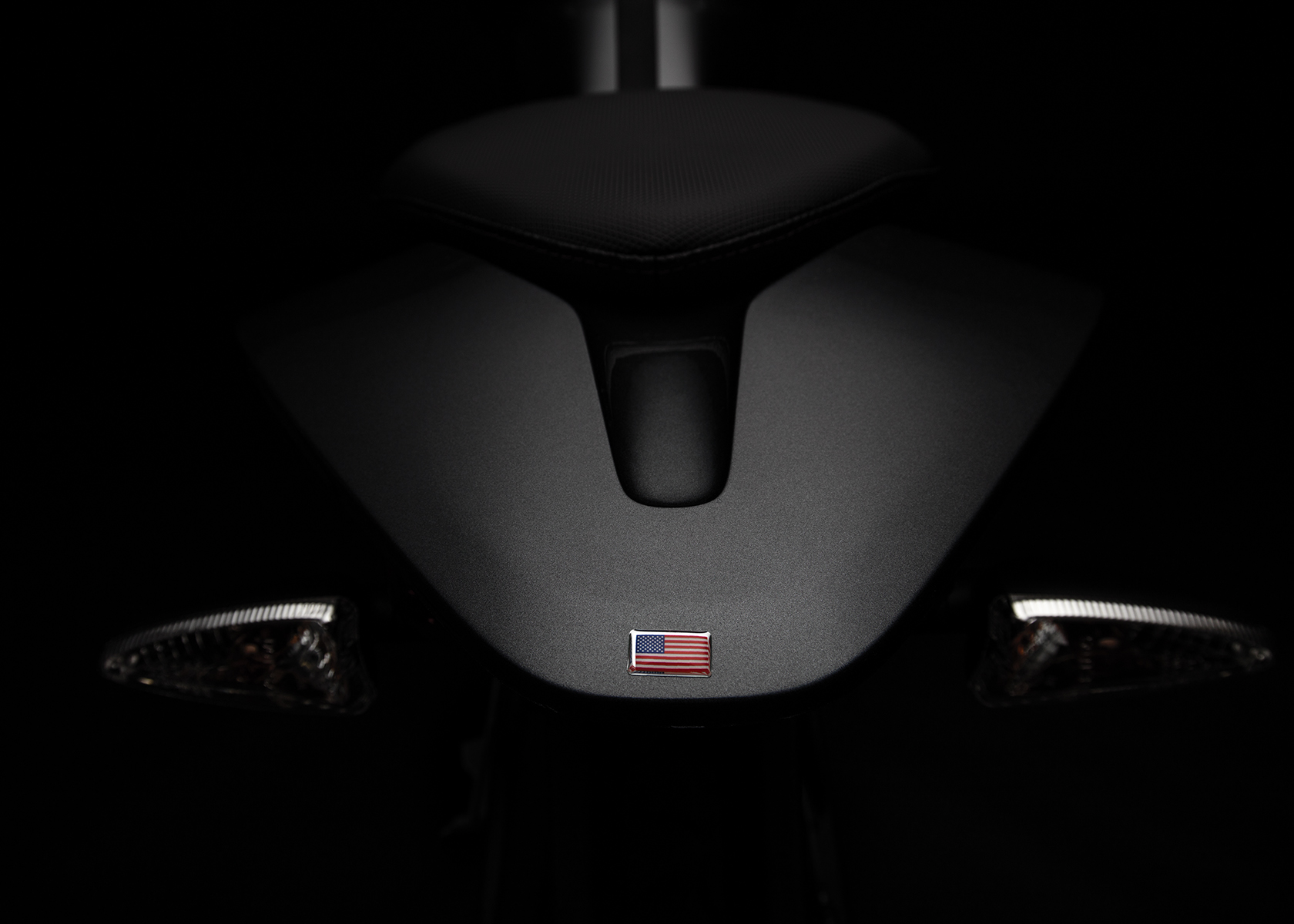 2017 Zero DSR Electric Motorcycle: Rear View