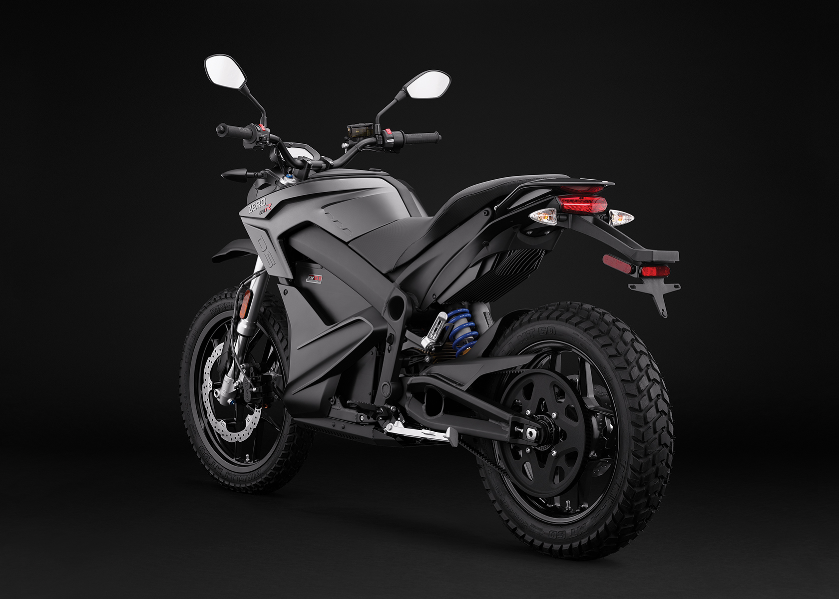 2017 Zero DSR Electric Motorcycle: Angle Left