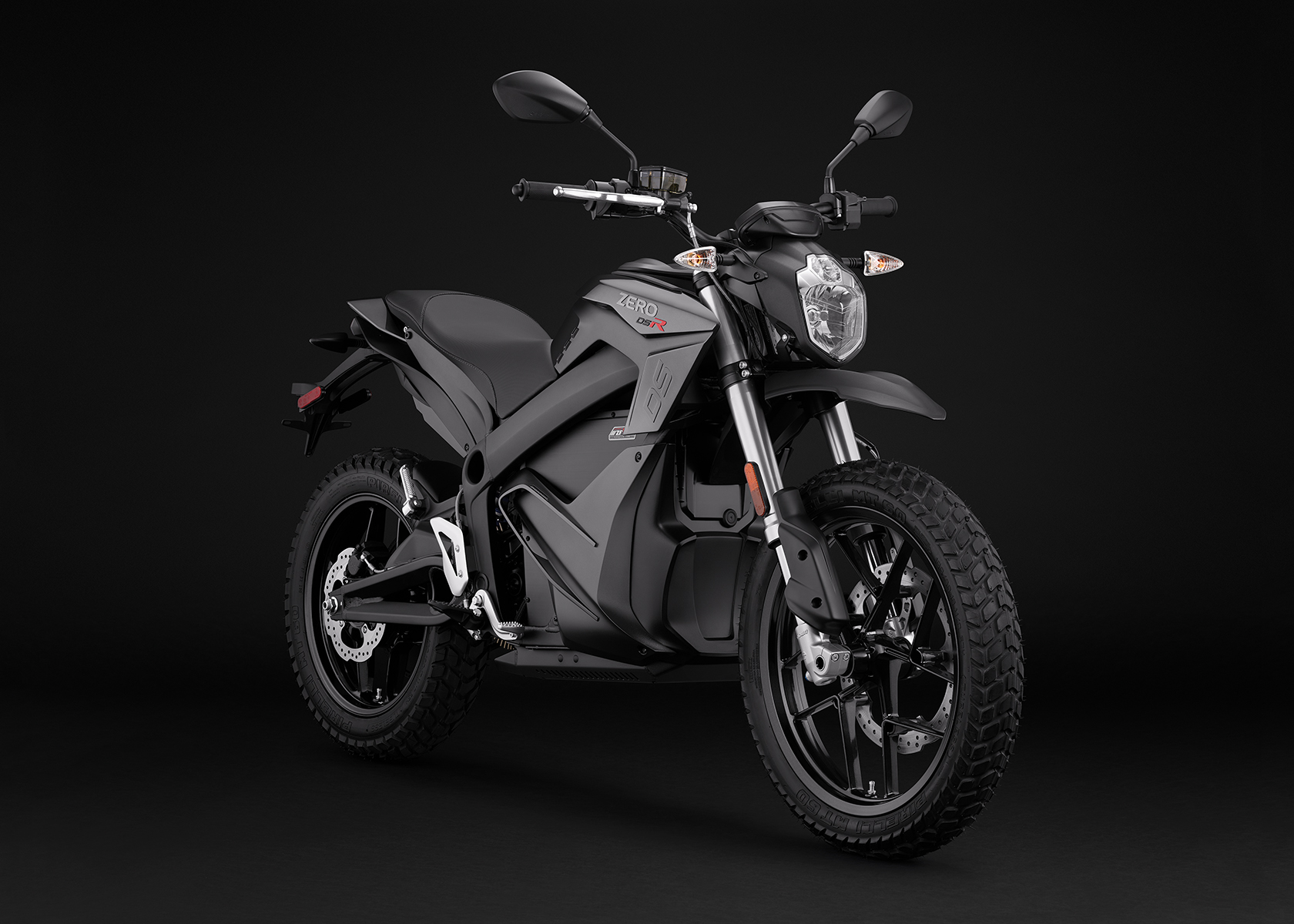 2017 Zero DSR Electric Motorcycle: Angle Right