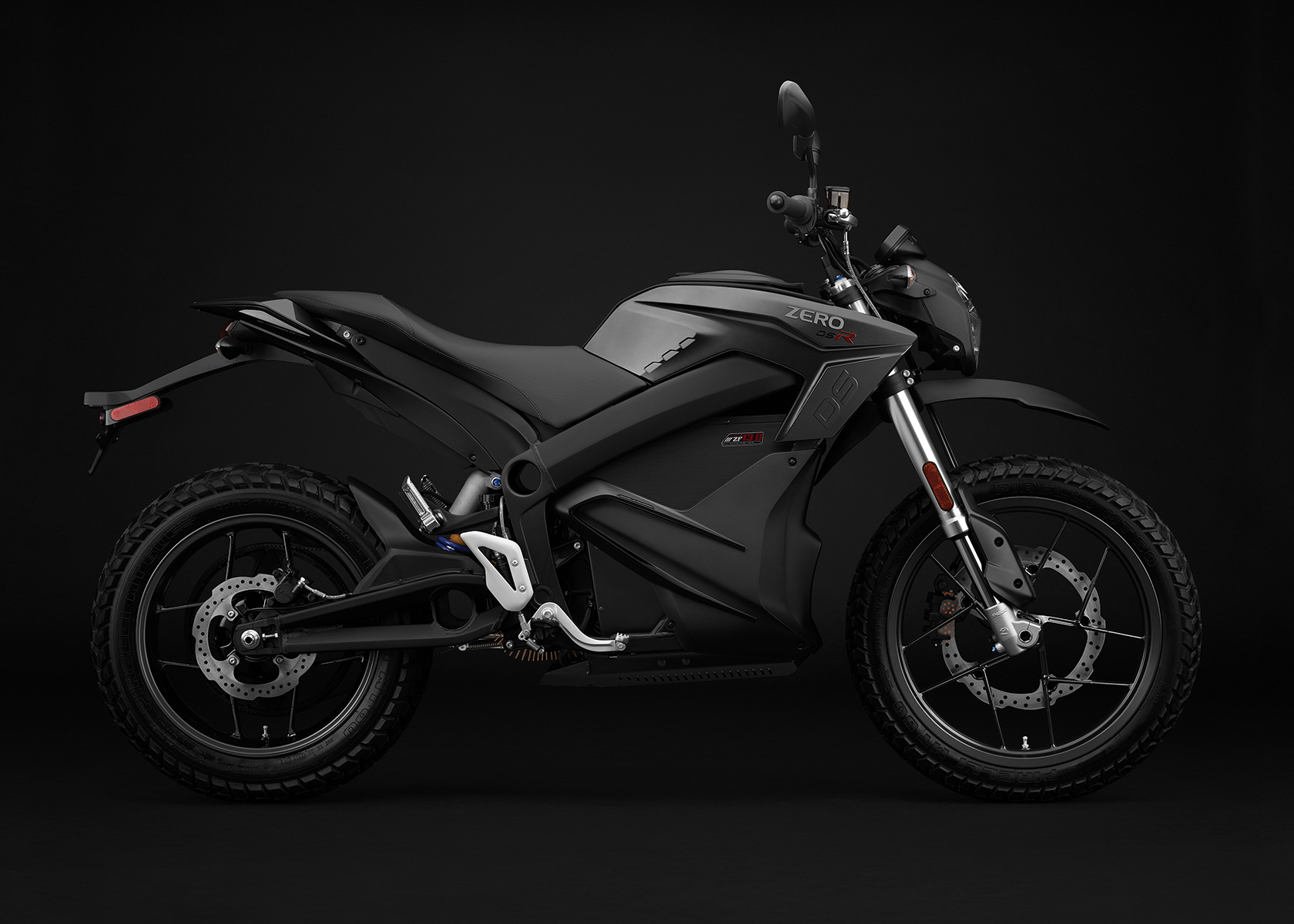 2017 Zero DSR Electric Motorcycle: Profile Right