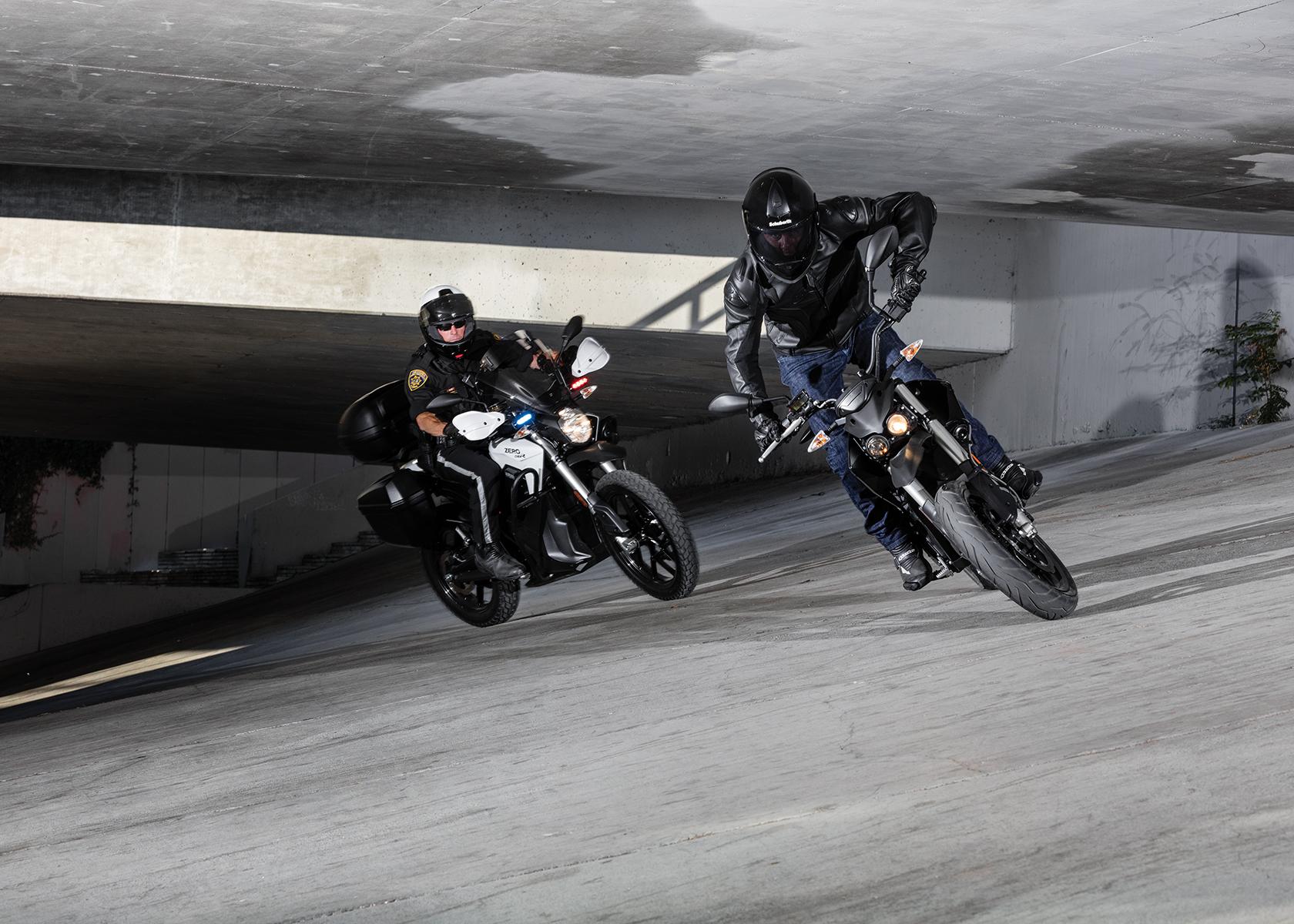 2017 Zero Police Electric Motorcycle: