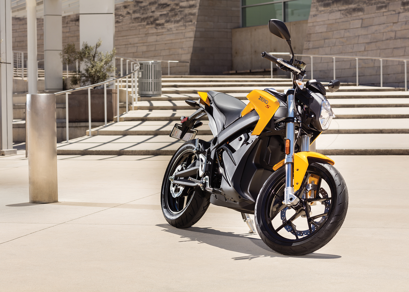 2017 Zero S Electric Motorcycle: