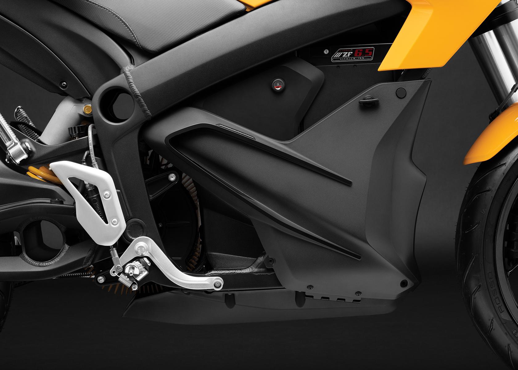 2017 Zero S ZF6.5 Electric Motorcycle: Storage
