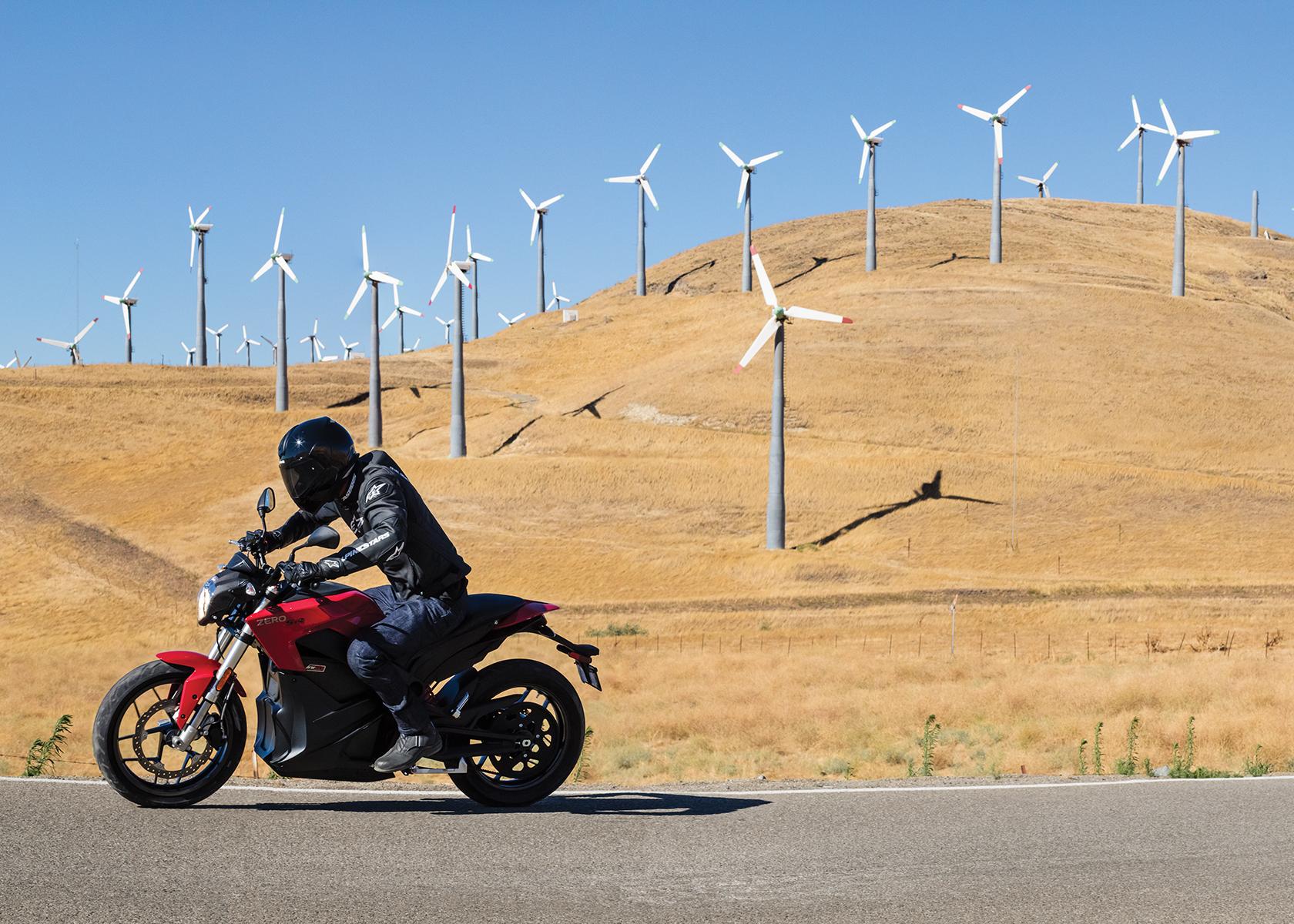 2017 Zero SR Electric Motorcycle: