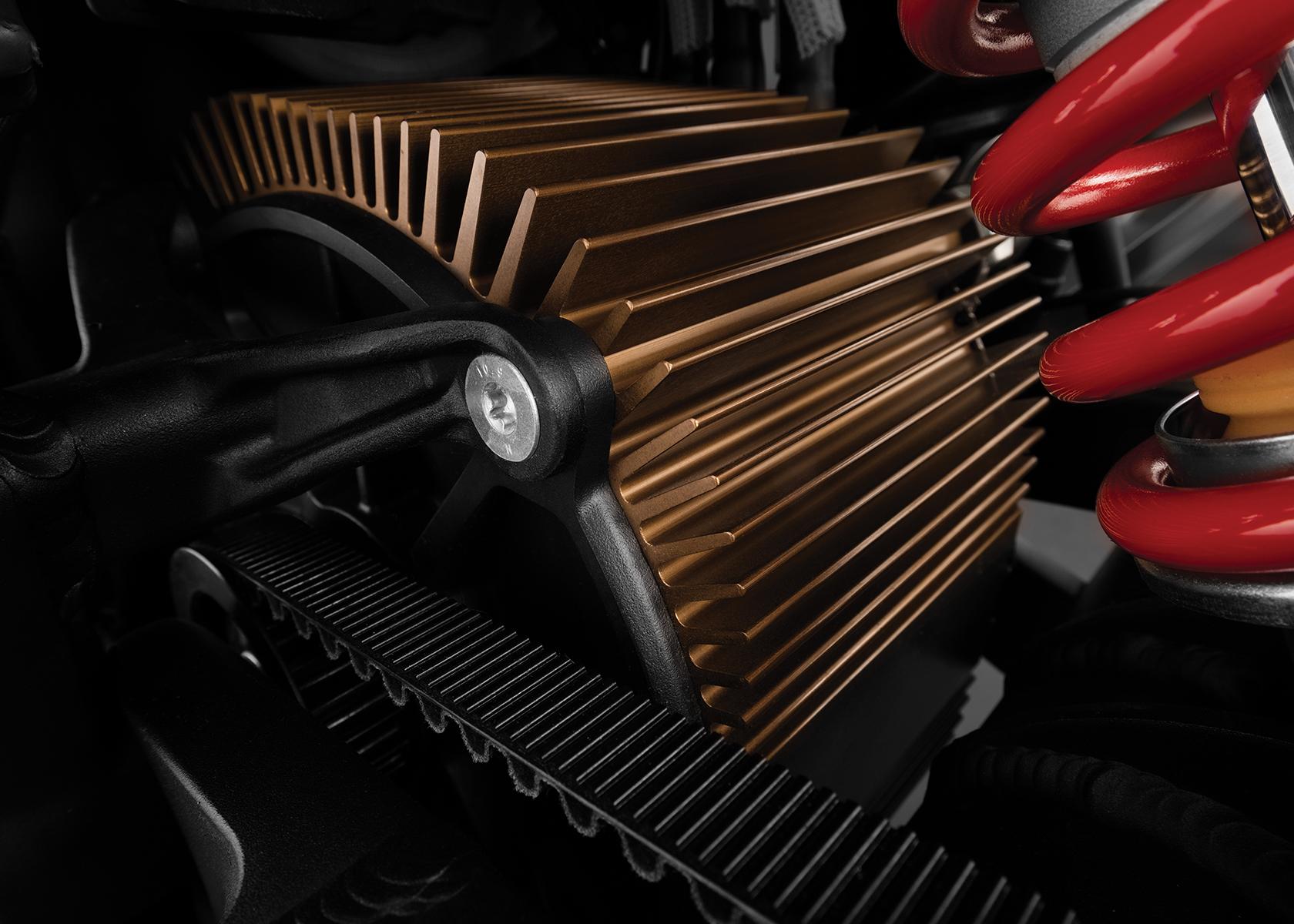 2018 Zero SR Electric Motorcycle: Motor