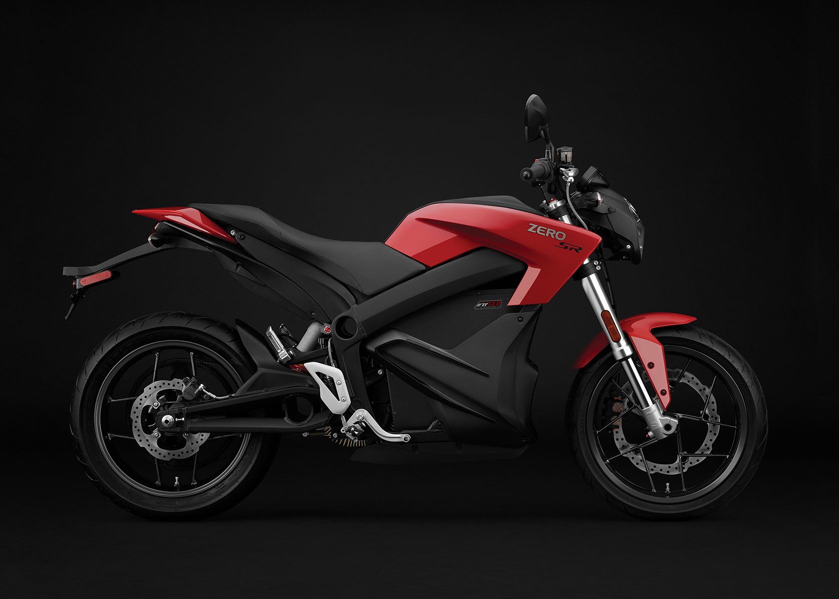 2017 Zero SR Electric Motorcycle: Profile Right