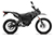 2017 Zero FX Electric Motorcycle: Black Profile Right, White Background