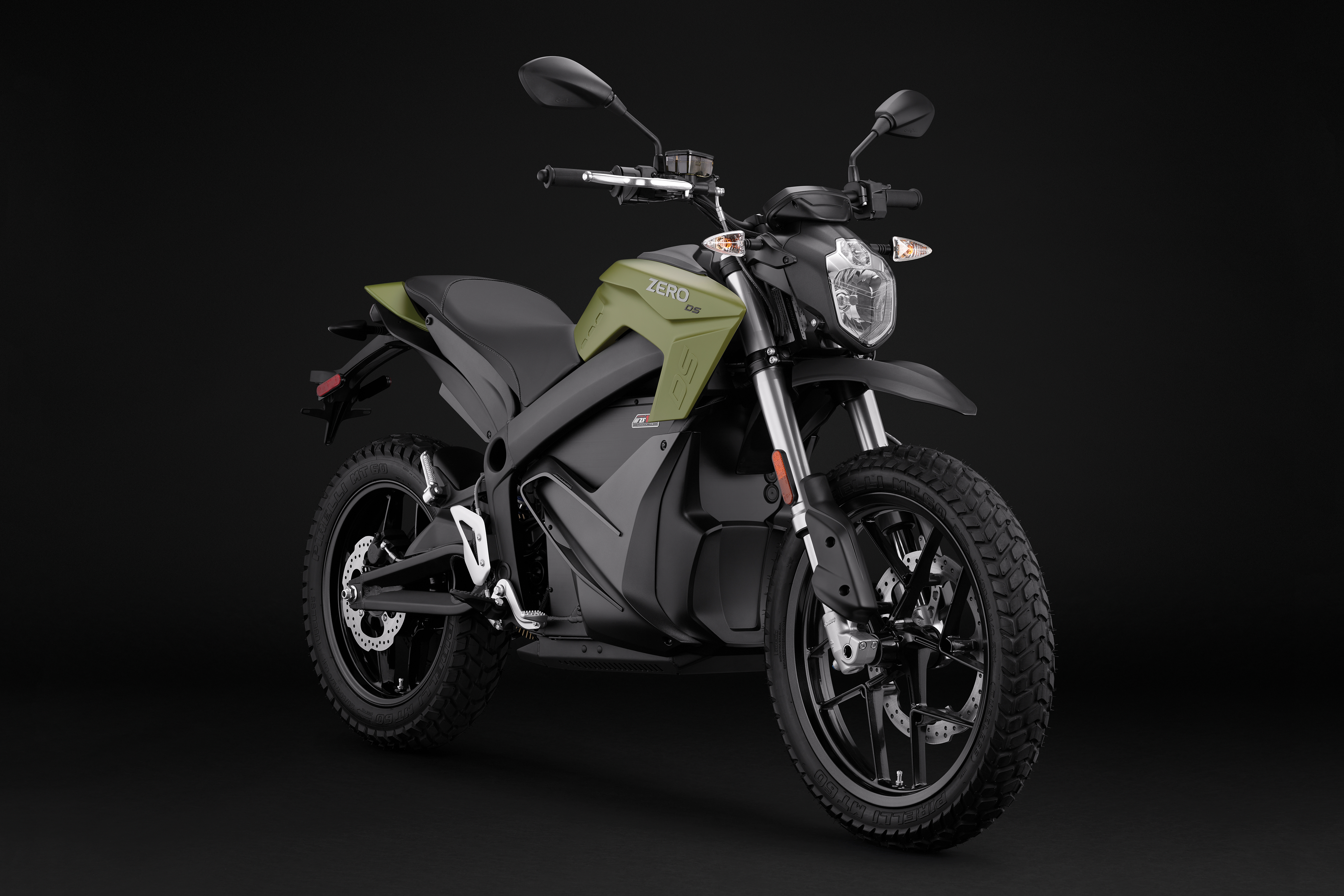 2018 Zero DS ZF14.4 Electric Motorcycle: Right Angle