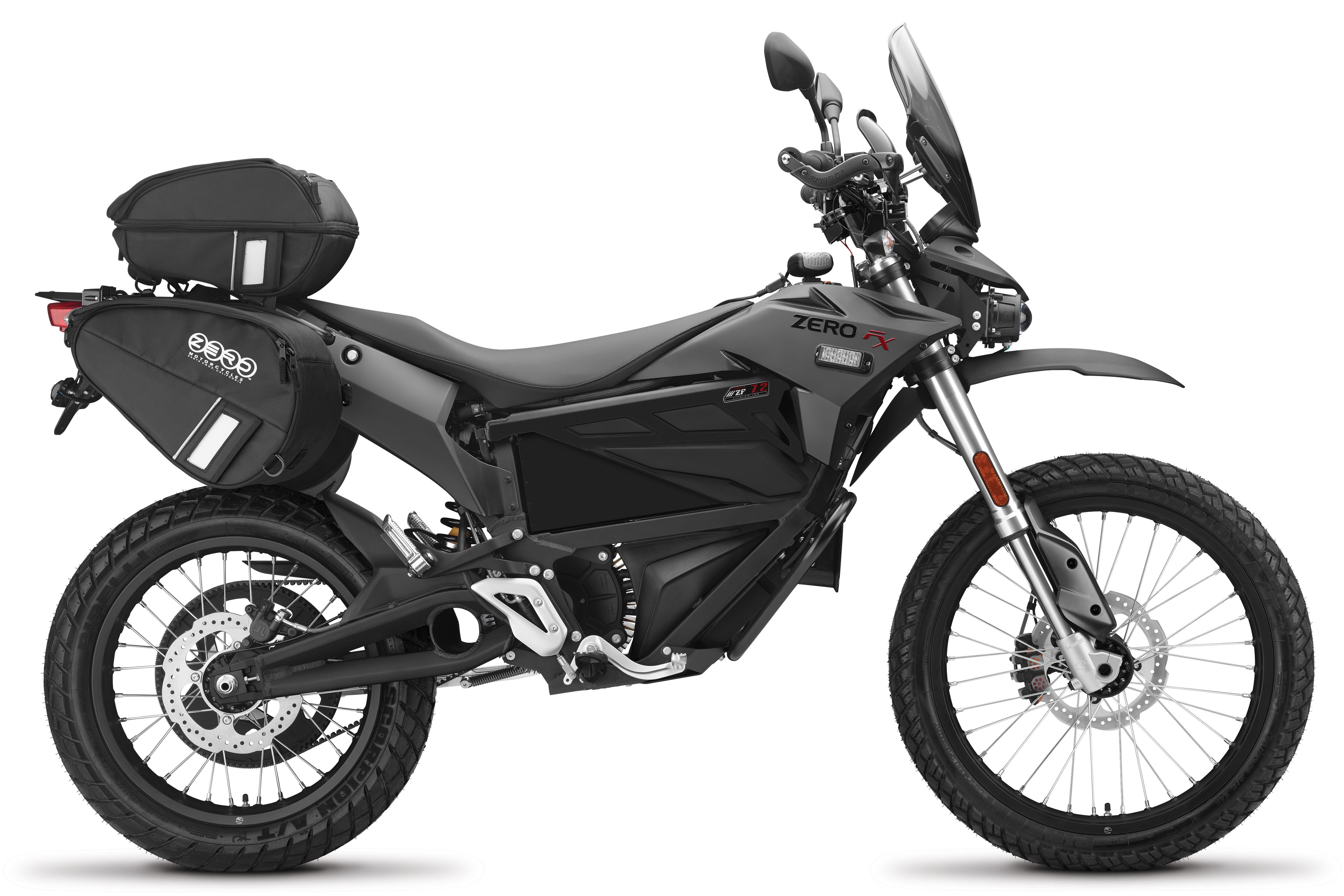 2018 Zero FXP Electric Motorcycle: Right Profile, White Background