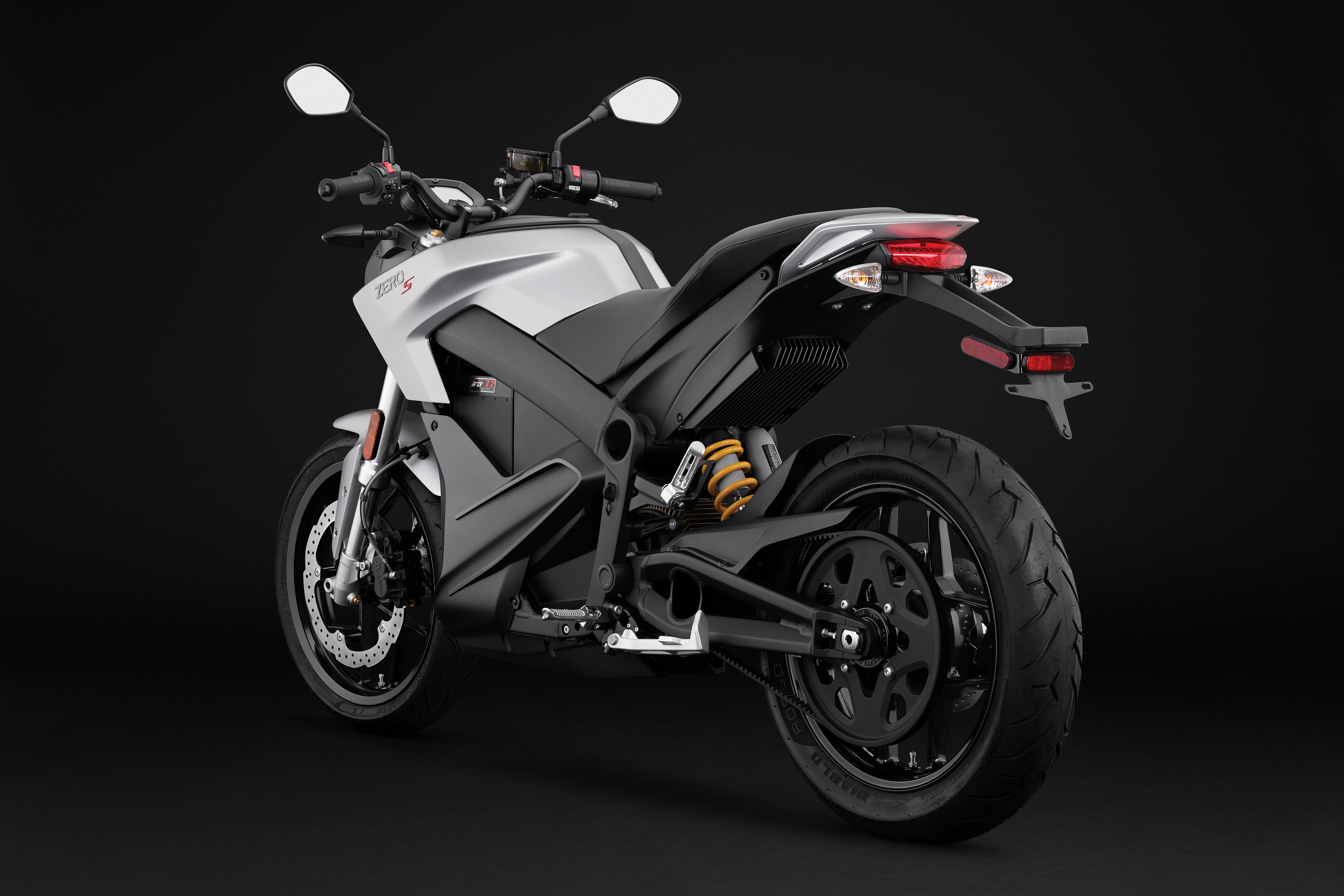 2018 Zero S Electric Motorcycle: Angle Left