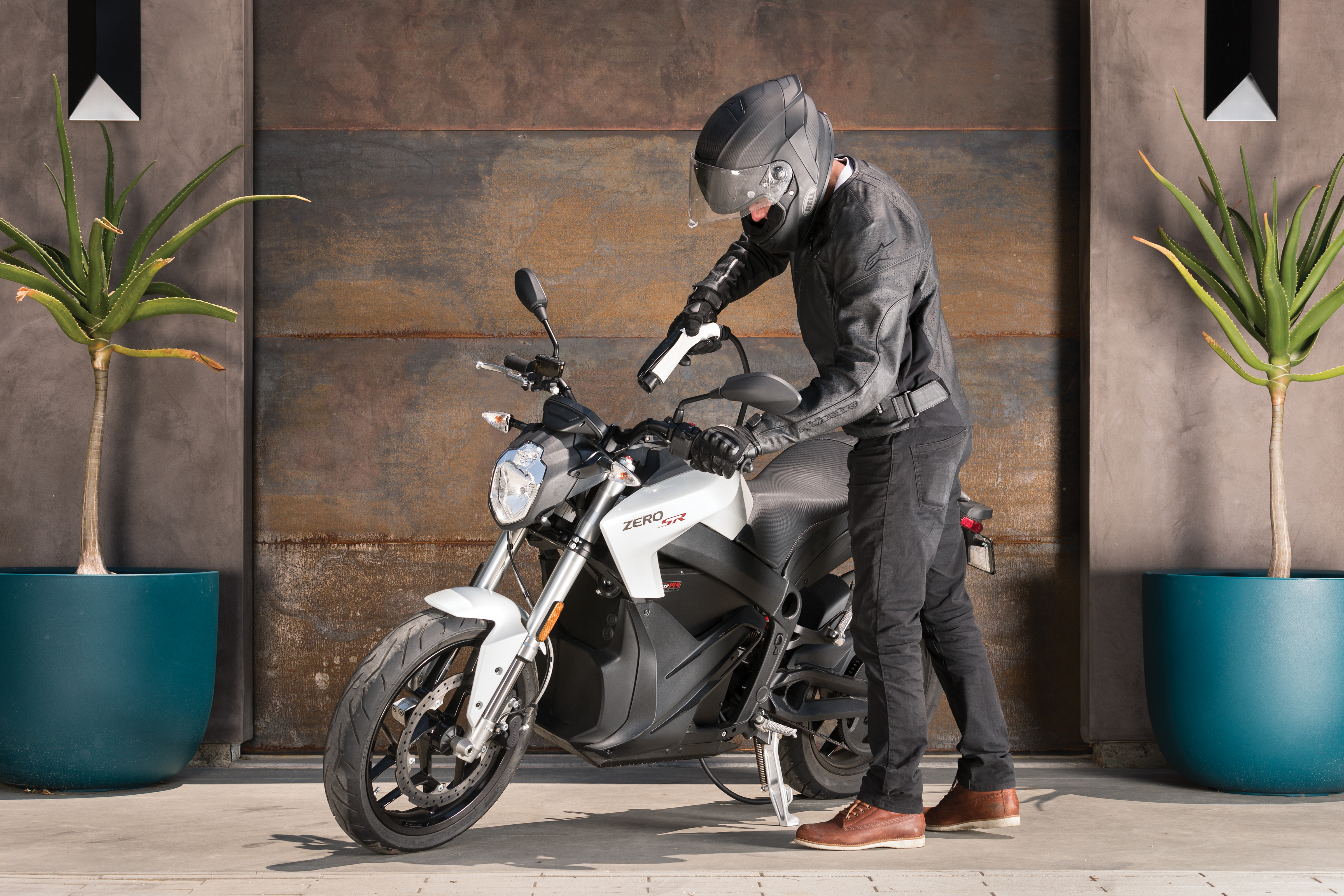 2018 Zero SR Electric Motorcycle: