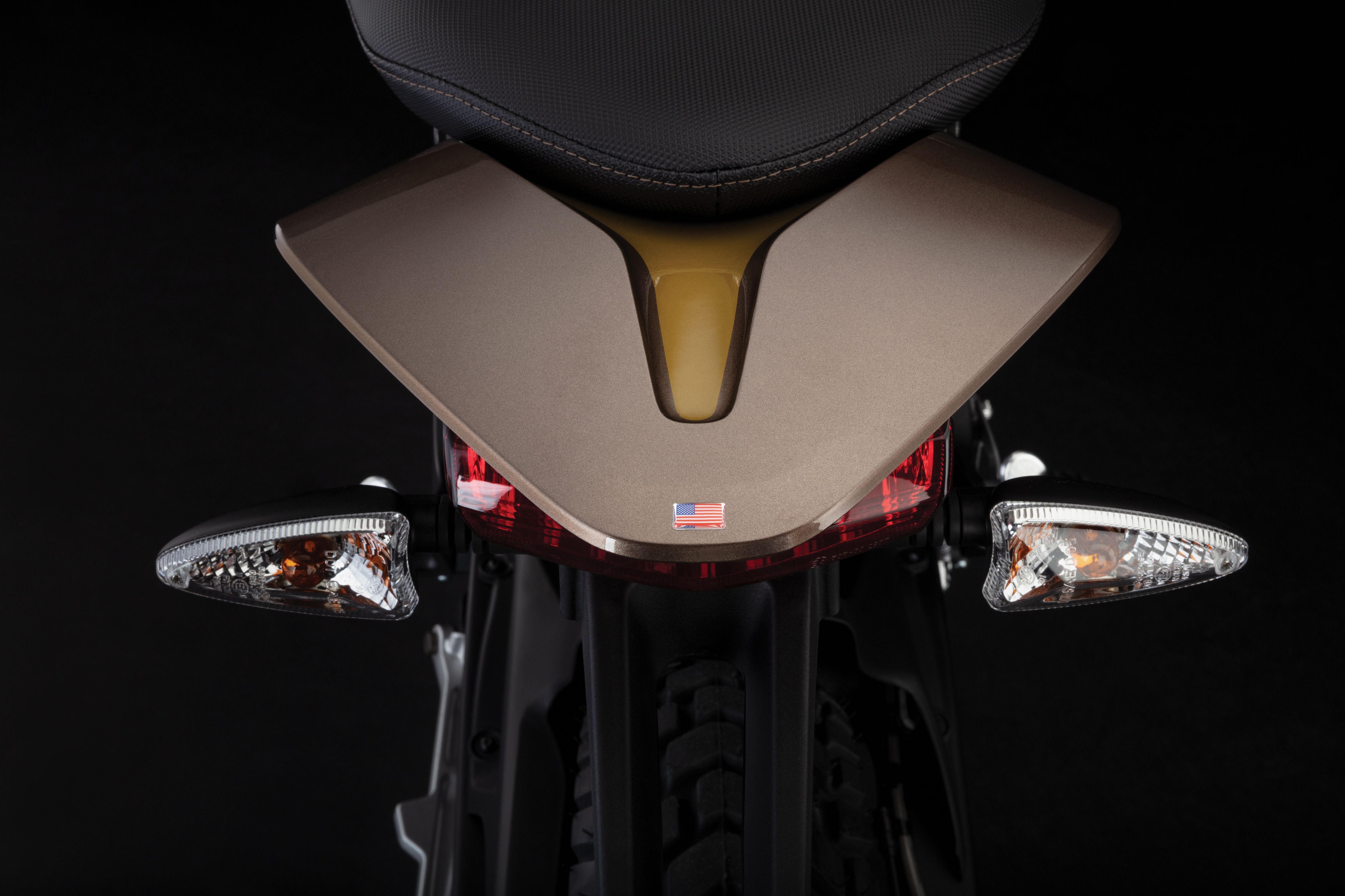 2019 Zero DSR Electric Motorcycle: Tail