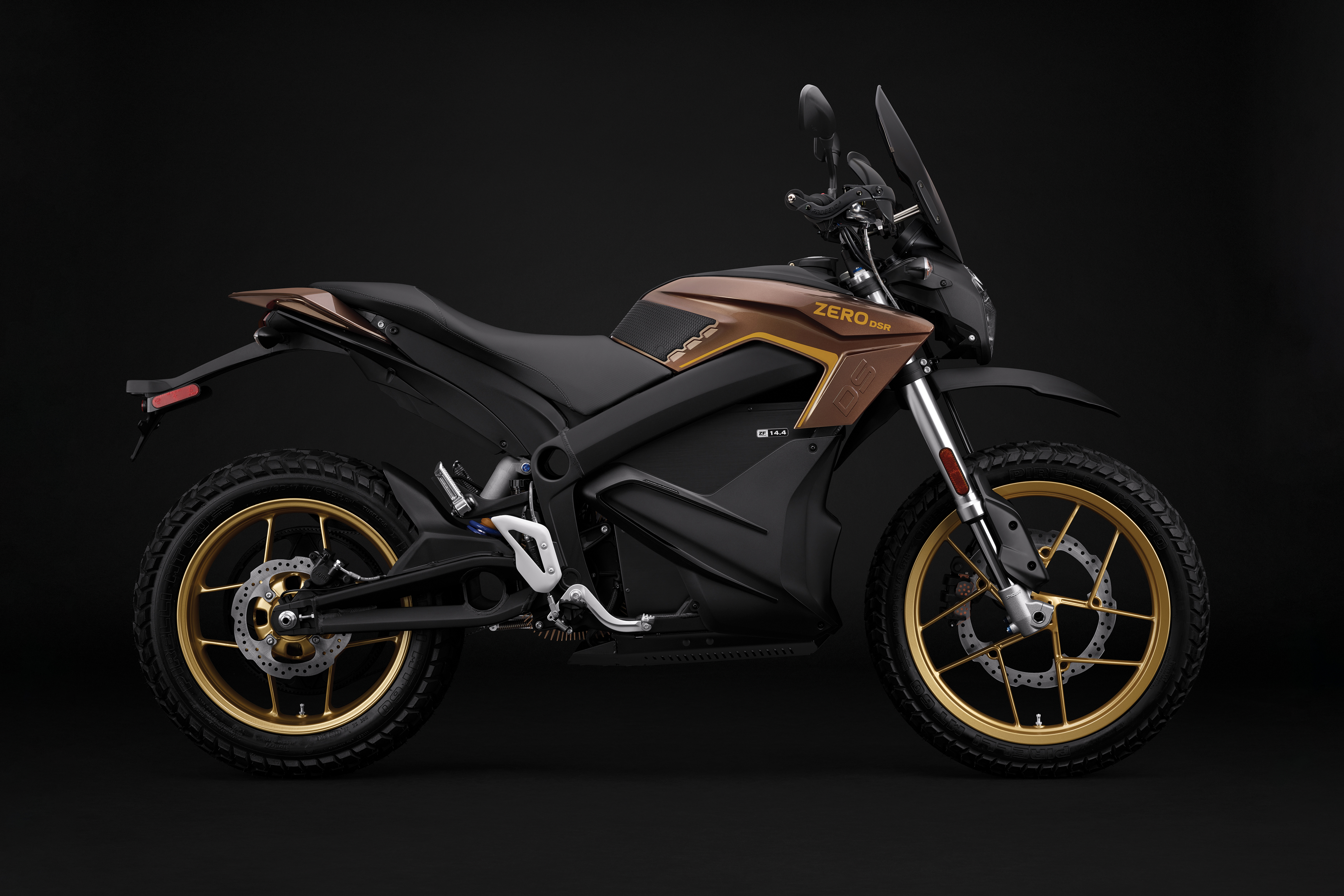 2019 Zero DSR Electric Motorcycle: Profile Right