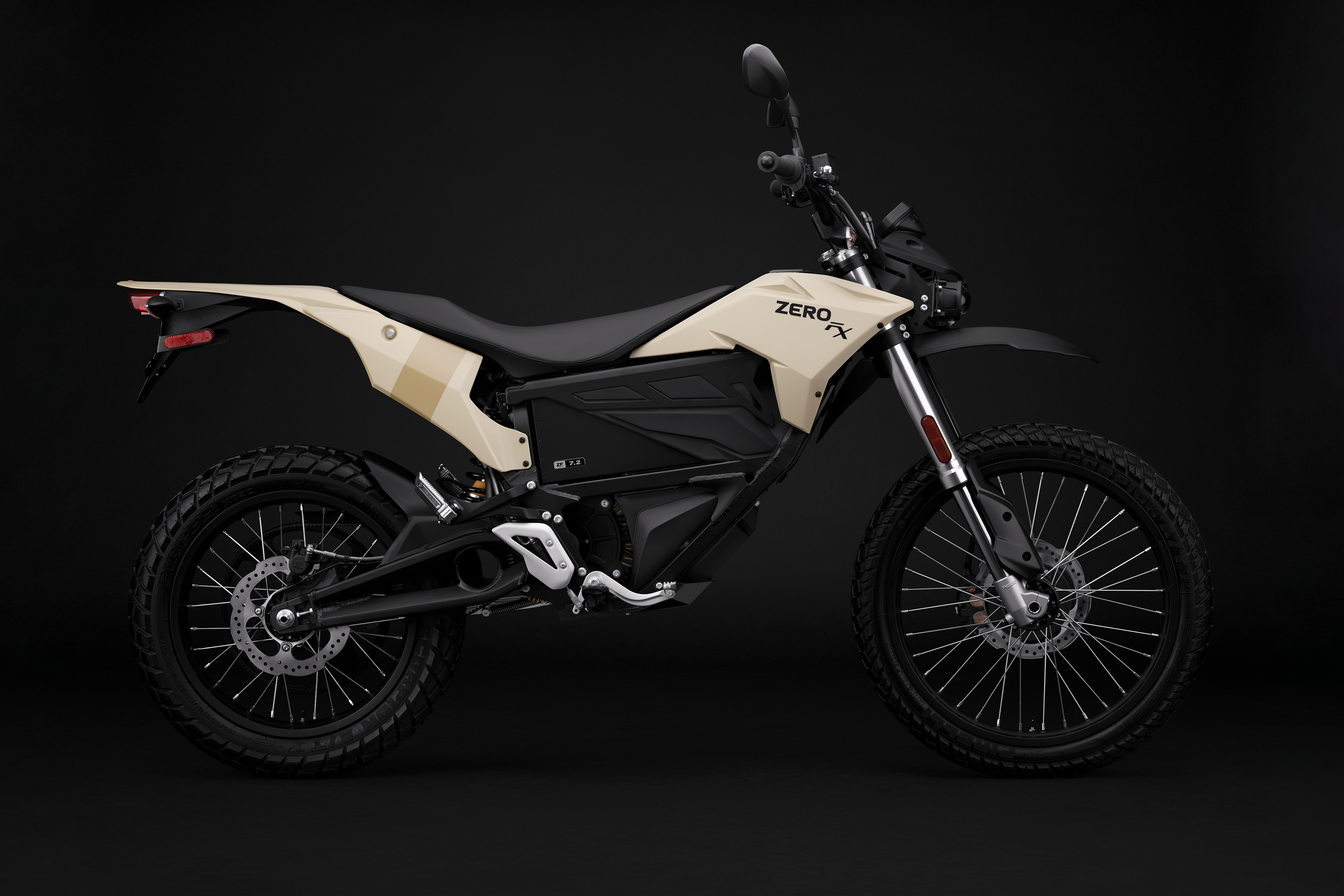 2019 Zero FX Electric Motorcycle: Profile Right