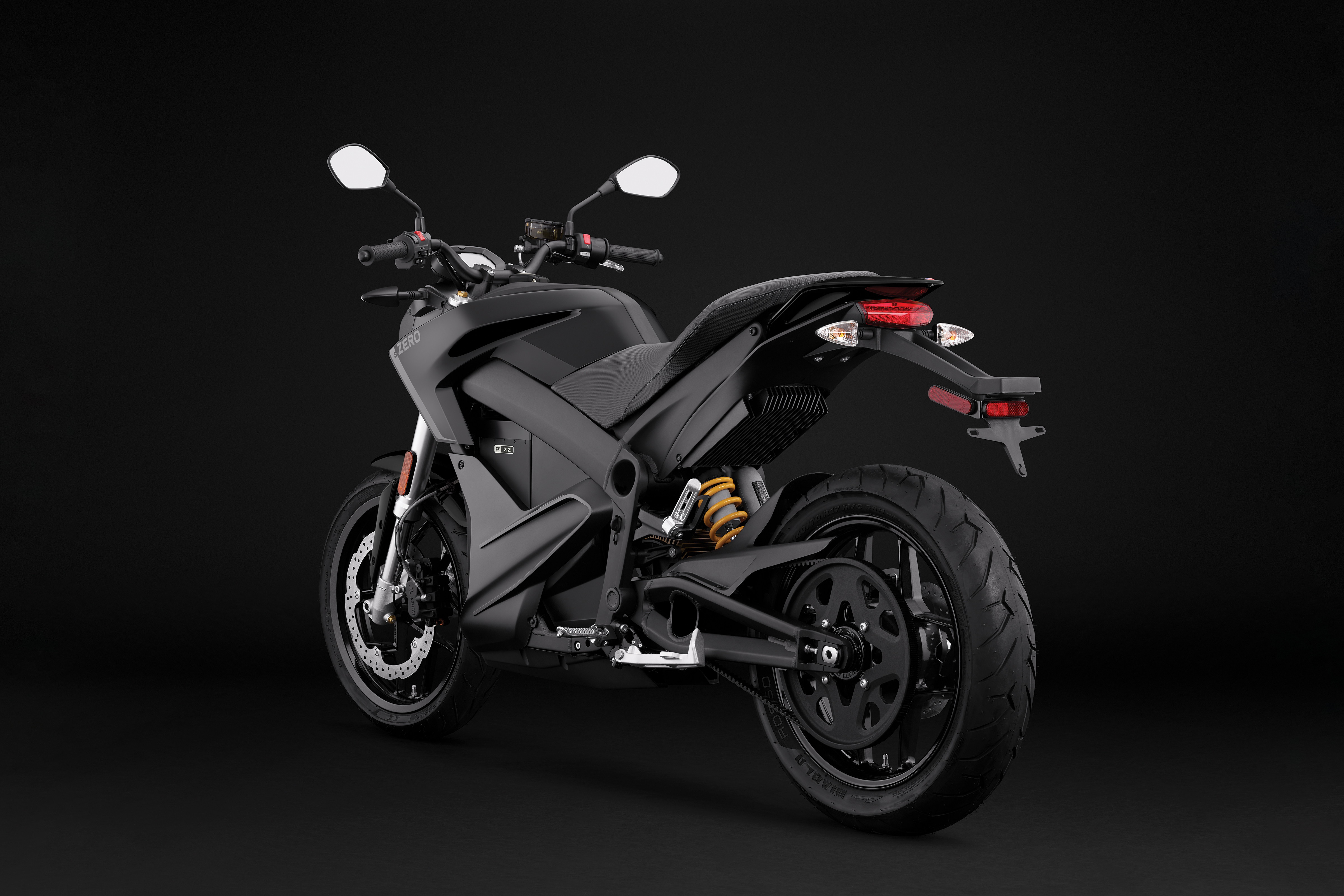 2019 Zero S Electric Motorcycle: Angle Left