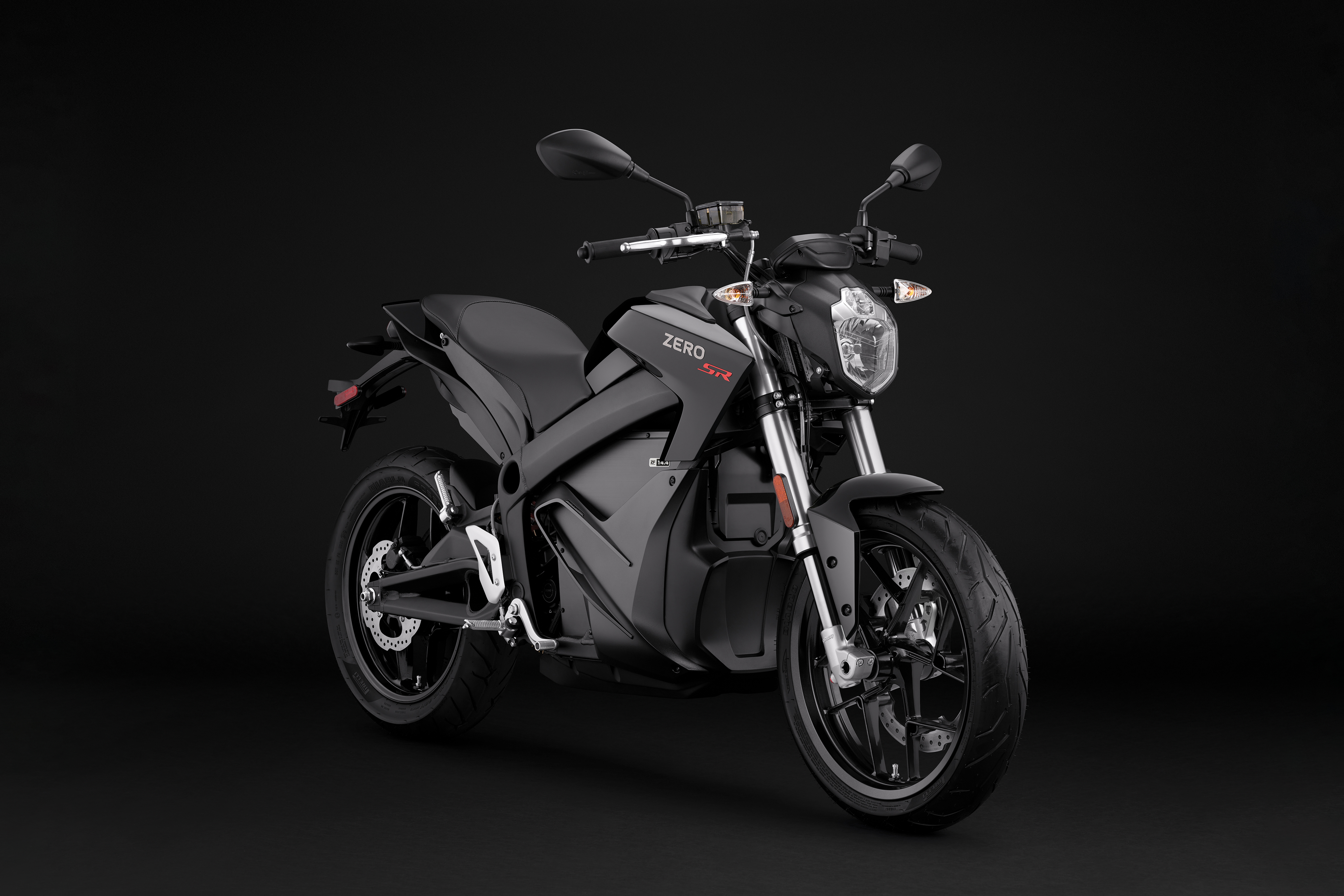 2019 Zero SR Electric Motorcycle: Angle Right