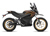 2019 Zero DSR Electric Motorcycle: Profile Right, White Background