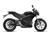 2019 Zero SR Electric Motorcycle: Profile Right, White Background