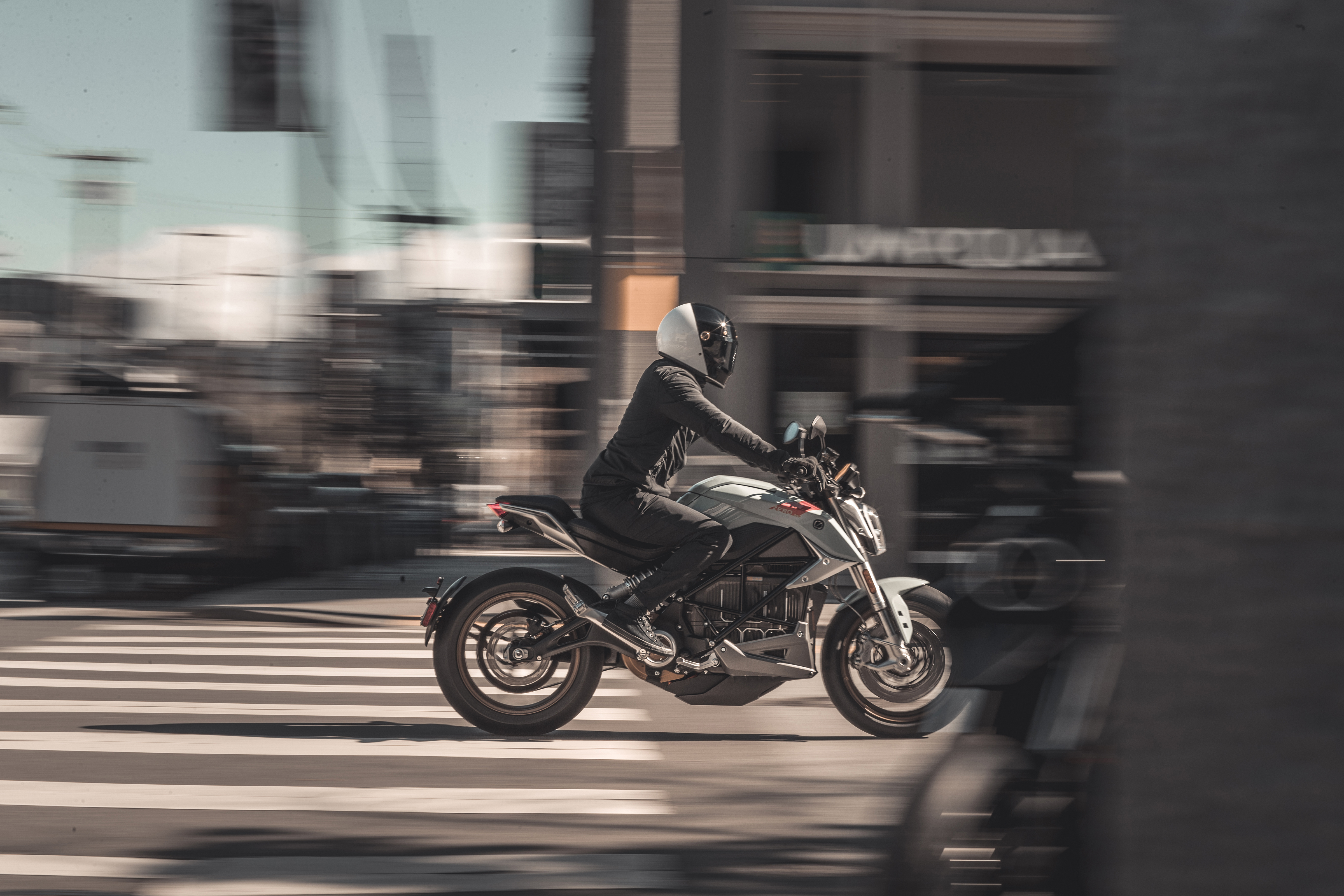 2020 Zero SR/F Electric Motorcycle: