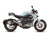2020 Zero SR/F ZF14.4 Blue Electric Motorcycle: Right Profile, White background